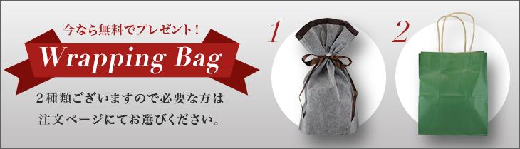 ギフトバッグ今なら無料でプレゼント